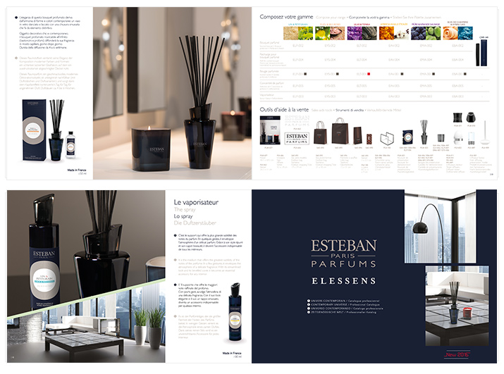 Agence Les Dissidents - Estéban paris Parfum