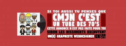 Agence Les Dissidents - graphiste webdesigner CDD
